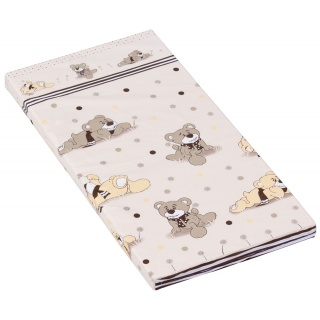 Molitanová matrace do postýlky Scarlett Patrik - béžová, 120 x 60 x 6 cm