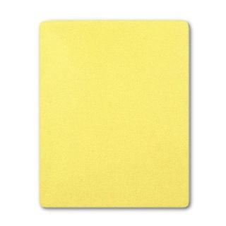 Froté prostěradlo do postýlky žlutá Žlutá