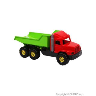 Hračka do písku - Náklaďák zeleno-červený Červená