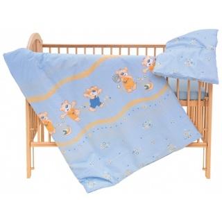 Dětské povlečení 2dílné - Scarlett Jiřík - modrá 90 x 120 cm
