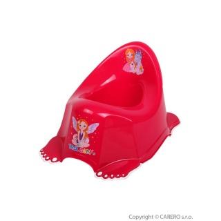Dětský nočník protiskluzový Malá Princezna růžový Růžová