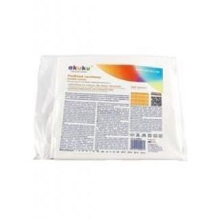 Nepromokavá podložka Akuku 90x120 - střední Bílá