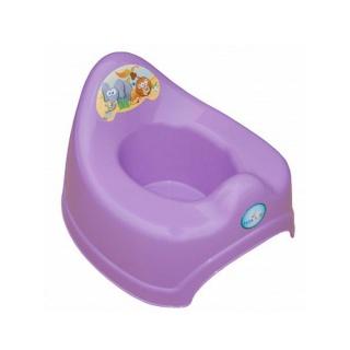 Hrající dětský nočník safari fialový Fialová