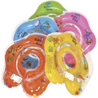 Baby Ring nafukovací kruh 3-36 měs. růžová