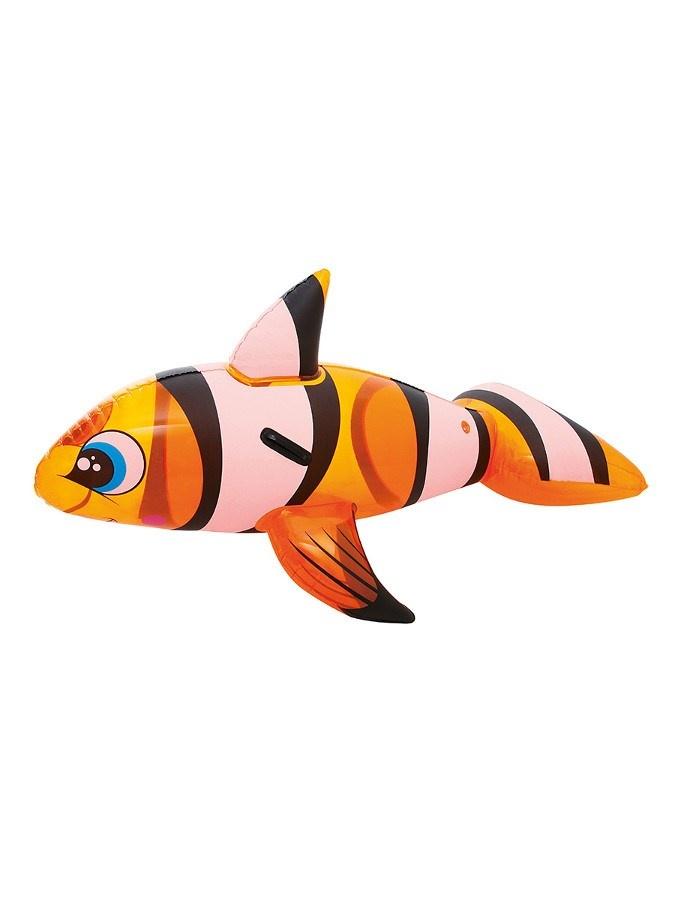Dětská nafukovací ryba do vody Bestway Oranžová