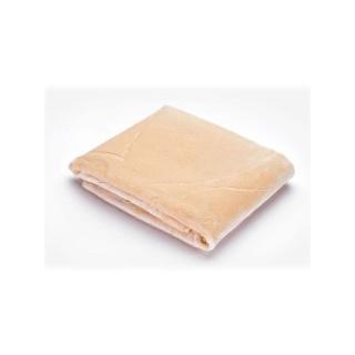 Dětská semišová deka Sensillo 80x100 cm beige Béžová