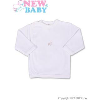 Kojenecká košilka s vyšívaným obrázkem New Baby bílá Bílá 50