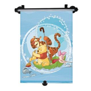 Sluneční roleta do auta Disney Winnie the Pooh Modrá