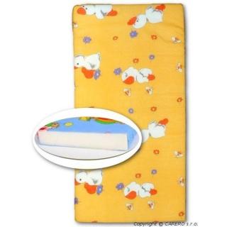 Dětská pěnová matrace oranžová - různé obrázky Oranžová