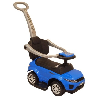 Dětské hrající jezdítko 3v1 Baby Mix modré Modrá