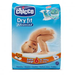 Plenky Chicco Extra Large 14 ks