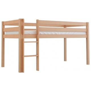 Vysoká postel Scarlett TOM - přírodní - 200 x 90 cm