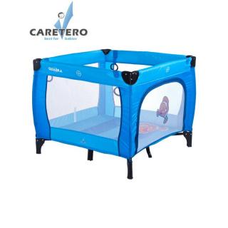 Dětská skládací ohrádka CARETERO Quadra blue Modrá