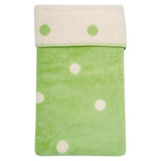 Dětská bavlněná deka Womar 75x100 zelená Zelená