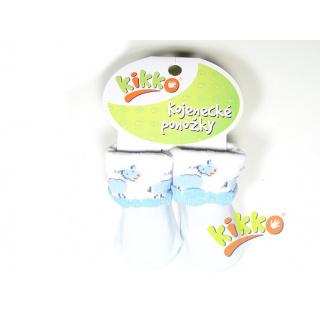 Kikko Kojenecké ponožky KIKKO - typ 31 - modré
