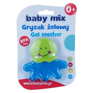 Chladící kousátko Baby Mix chobotnice Modrá