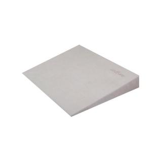 Kojenecký semiškový polštář - klín s větracími otvory  šedý Šedá