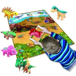 Scarlett dětský kobereček 3D DINO - 120 x 90 cm