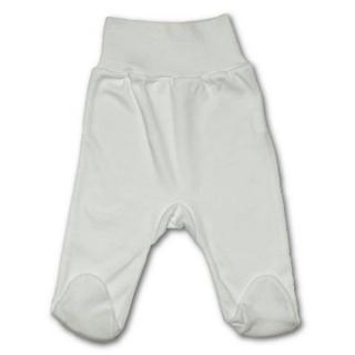 Kojenecké polodupačky New Baby bílé Bílá 74 (6-9m)