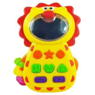 Dětská hračka se zvukem Baby Mix Lvíček Dle obrázku