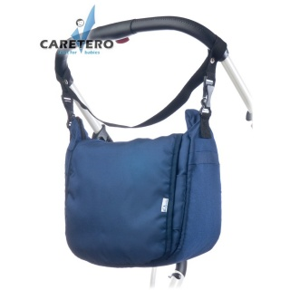 Taška na kočárek CARETERO - navy Modrá