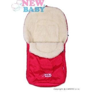 Zimní fusák New Baby Classic Wool pink Růžová