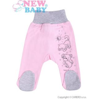 Kojenecké polodupačky New Baby Kamarádi růžové Růžová 86 (12-18m)