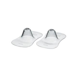 Chránič prsních bradavek Avent - small Transparentní