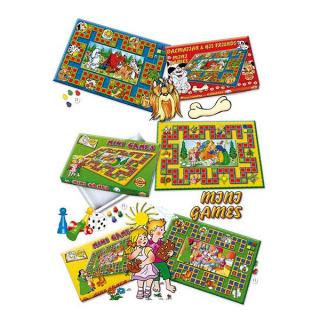 Stolní hra Mini Games Popelka Fialová