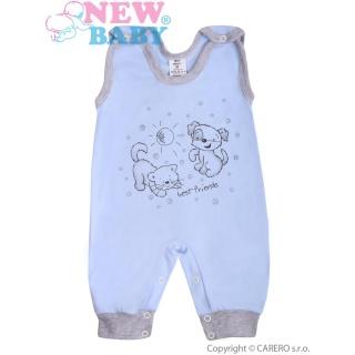 Kojenecké dupačky New Baby Kamarádi modré Modrá 80 (9-12m)