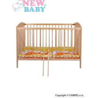 Dětská postýlka New Baby Peter - přírodní Přírodní