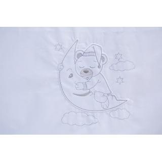 Dětské povlečení 2dílné Scarlett Péťa - bílé 100 x 135 cm