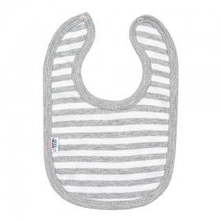 Kojenecký bavlněný bryndák New Baby Zebra exclusive Bílá