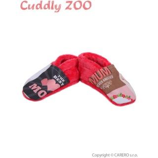 Bačkůrky Cuddly Zoo Máma S korálová Korálová