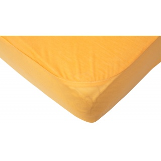 Nepropustné prostěradlo TENCEL - oranžová 60 x 120 cm