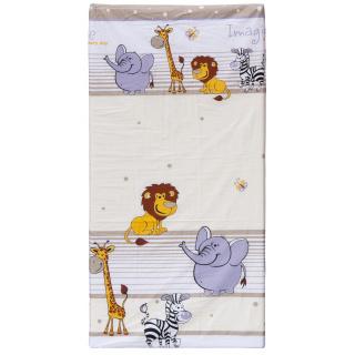 Molitanová matrace do postýlky Scarlett ZOO - béžová, 120 x 60 x 6 cm