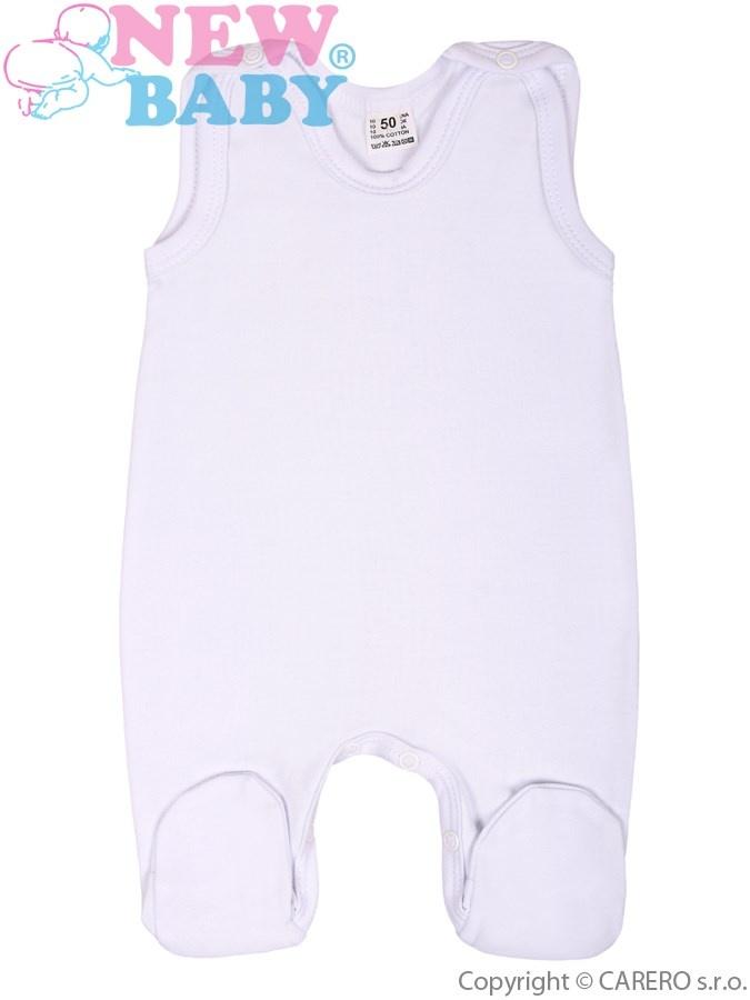 Dupačky bílé New Baby Classic Bílá 80 (9-12m)