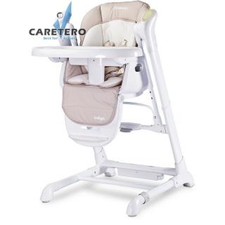 Dětská jídelní židlička 2v1 Caretero Indigo beige Béžová
