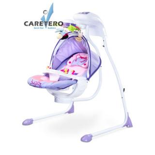 Dětská houpačka CARETERO Bugies purple Fialová
