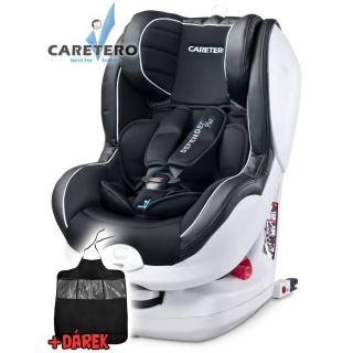 Autosedačka CARETERO Defender Plus Isofix black 2016 Černá