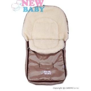 Zimní fusák New Baby Classic Wool brown Hnědá