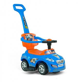Dětské jezdítko 2v1 Milly Mally Happy blue-orange Modrá