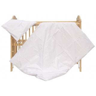 Dětské povlečení 2dílné - Scarlett Blanka - bílá 100 x 135 cm