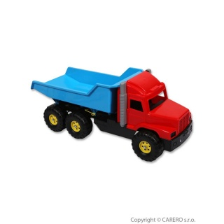 Hračka do písku - Náklaďák modro-červený Modrá