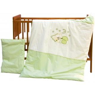 Dětské povlečení 2dílné - Scarlett Měsíček - zelená 100 x 135 cm