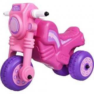 Odrážedlo Cross Bike růžové Fialová