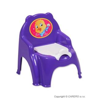 Dětský nočník fialový Fialová