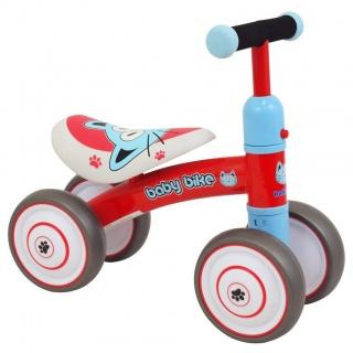 Dětské odrážedlo Baby Mix Baby Bike červené Červená