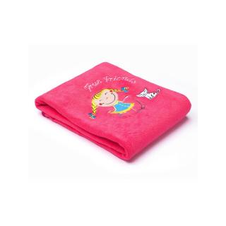 Dětská deka Sensillo Děti 75x100 cm raspberry Růžová