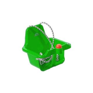 Houpačka s pískátkem - zelená  světlá Zelená